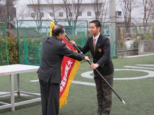 大阪桐蔭選抜旗授与式_20180221